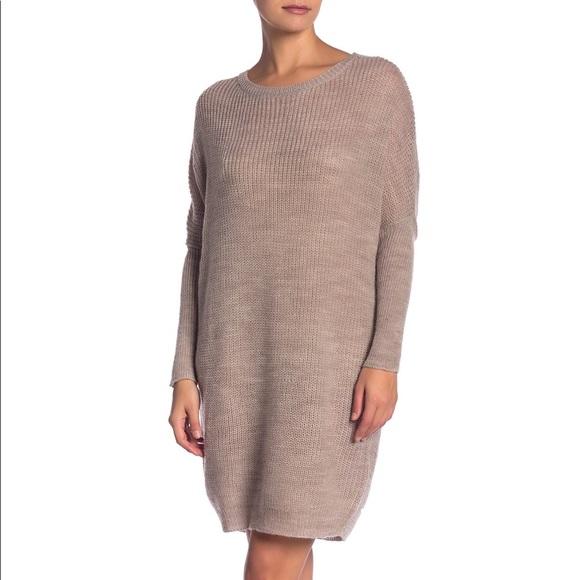 Solutions! Dresses & Skirts - Solutions Dolman Sleeve Sweater Dress NWT sz. M